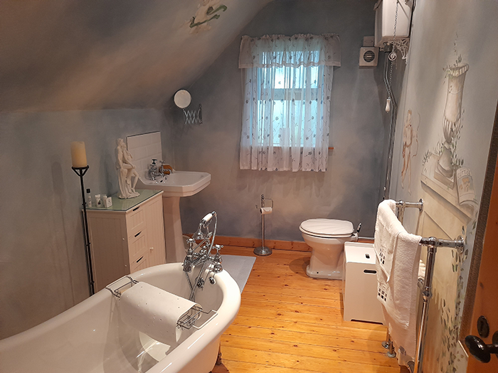 image of bathroon at Bushmills Thatched Cottage