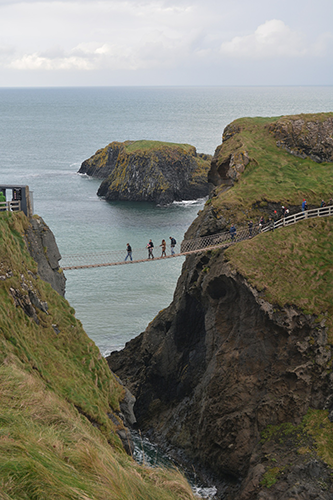 image showing the carrick a rede rope bridge